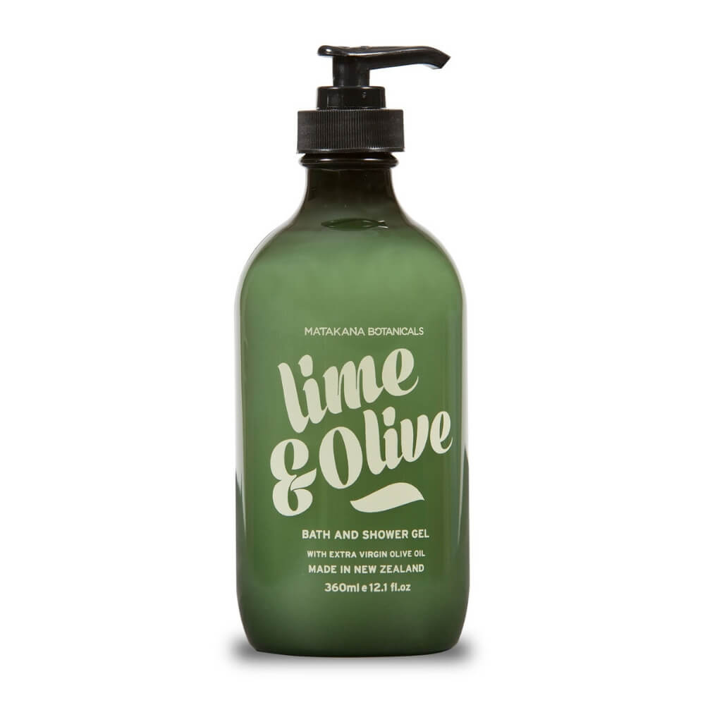 MATAKANA BOTANICALS LIME & OLIVE - Shower Gel