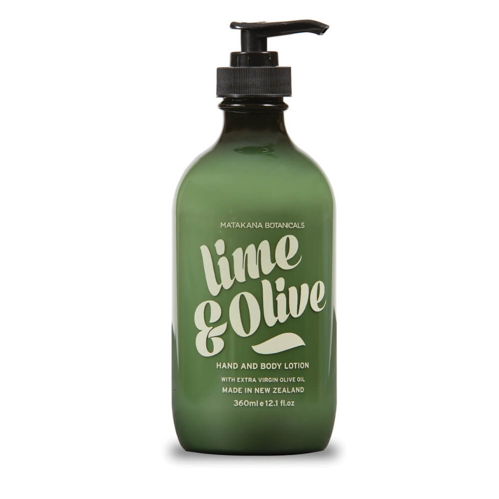 MATAKANA BOTANICALS LIME & OLIVE - Body Lotion