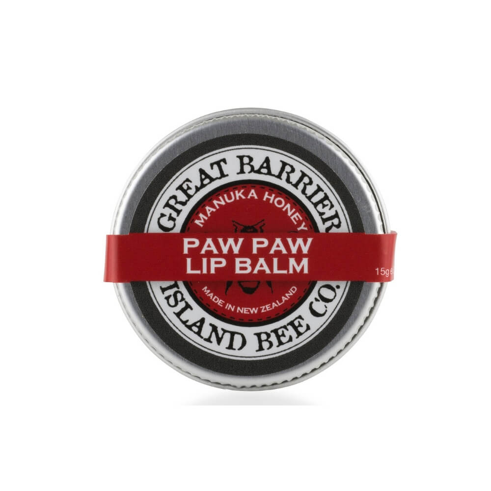 Great barrier Island Manuka Honey lip balm Paw paw from Funky Gifts NZ