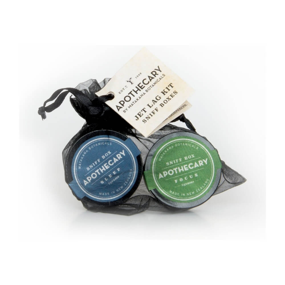 MATAKANA BOTANICALS APOTHECARY - Sleep & Focus Jet Lag Kit