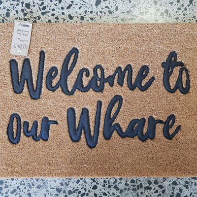 Door Mat - Welcome to our Whare