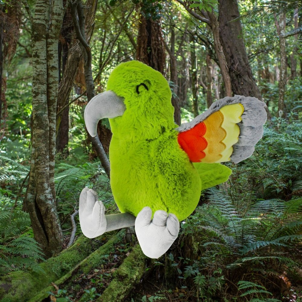 Kevin the Kea soft toy from Funky Gifts NZ