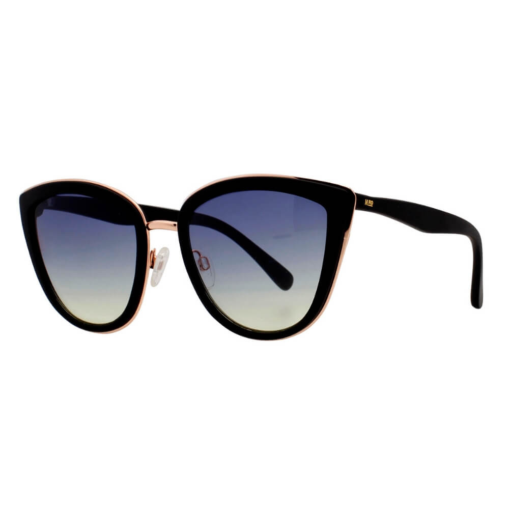 Moana Road Greta Carbo Black Sunnies #495