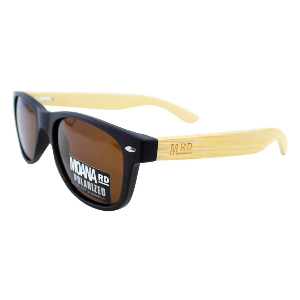 Moana Road Kids Sunnies - Black #478