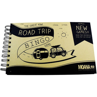The Great Kiwi Road Trip Bingo Kids Games Summer