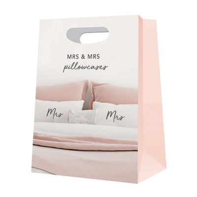 Mrs & Mrs Pillowcase Set