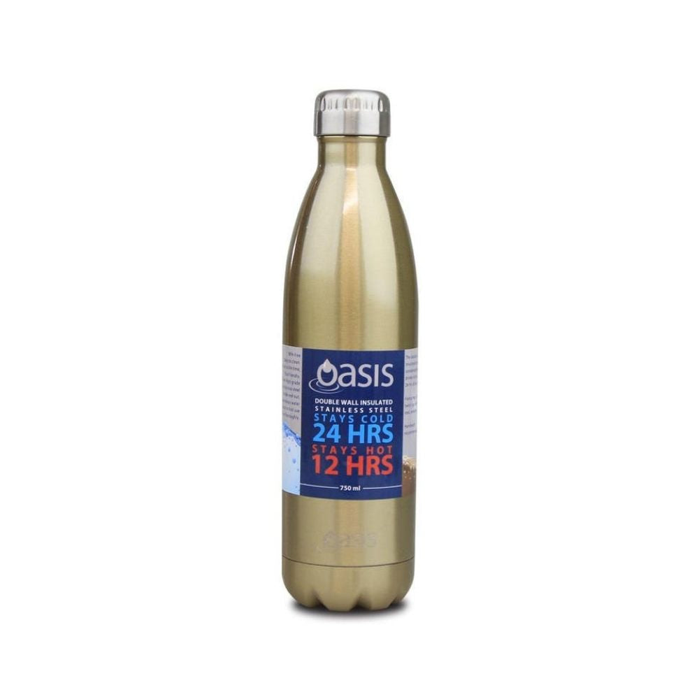 Oasis 750ml Champagne Drink Bottle from Funky Gifts NZ