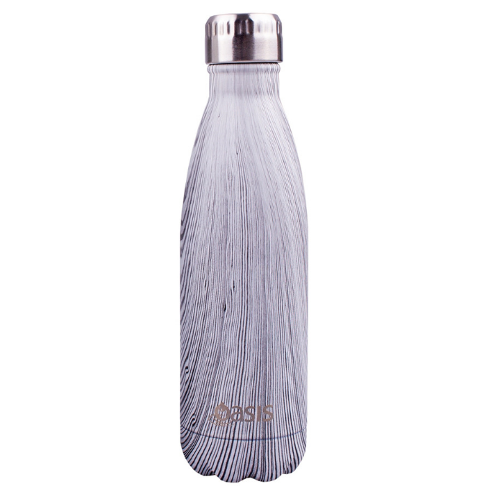 Oasis Stainless Steel Deluxe Bottle 500ml - Driftwood