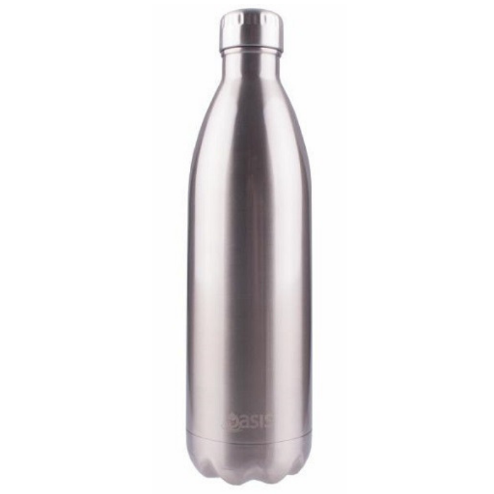 Oasis Stainless Steel Bottle 500ml - Silver