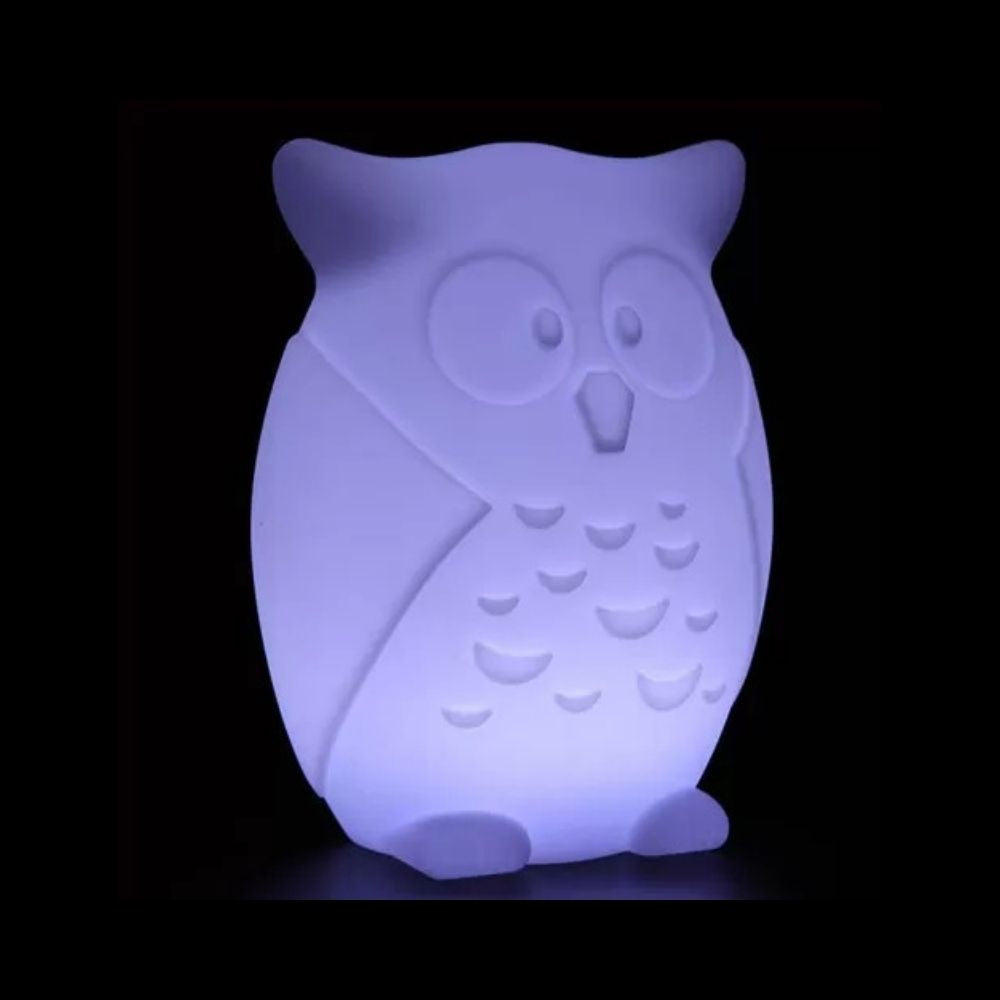 OWL LED Light purple from Funky Gifts NZ