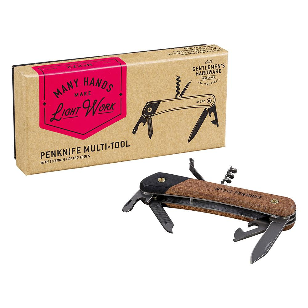 Gents Hardware Pen Knife Multi Tool from Funky Gifts NZ
