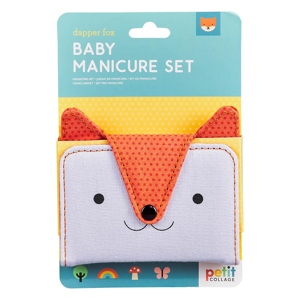 baby manicure set Dapper fox from funky gifts nz