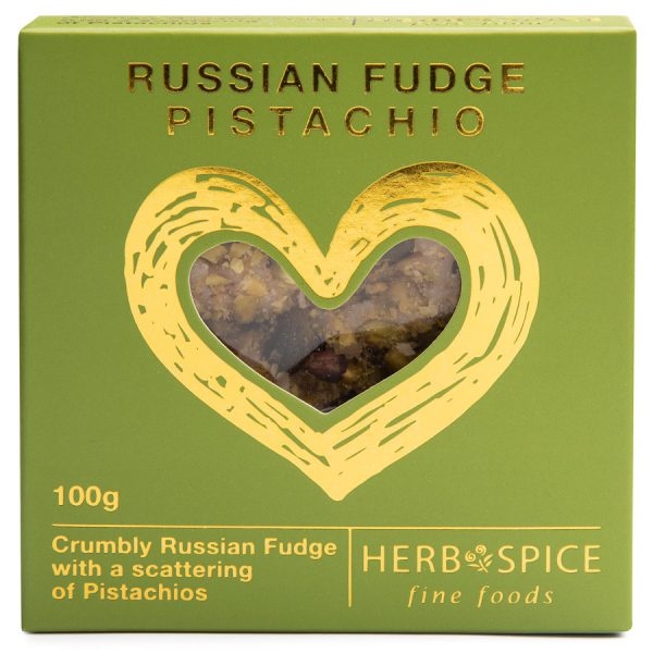Pistachio Russian Fudge 100g