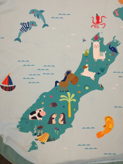 Play & Go Mat - New Zealand