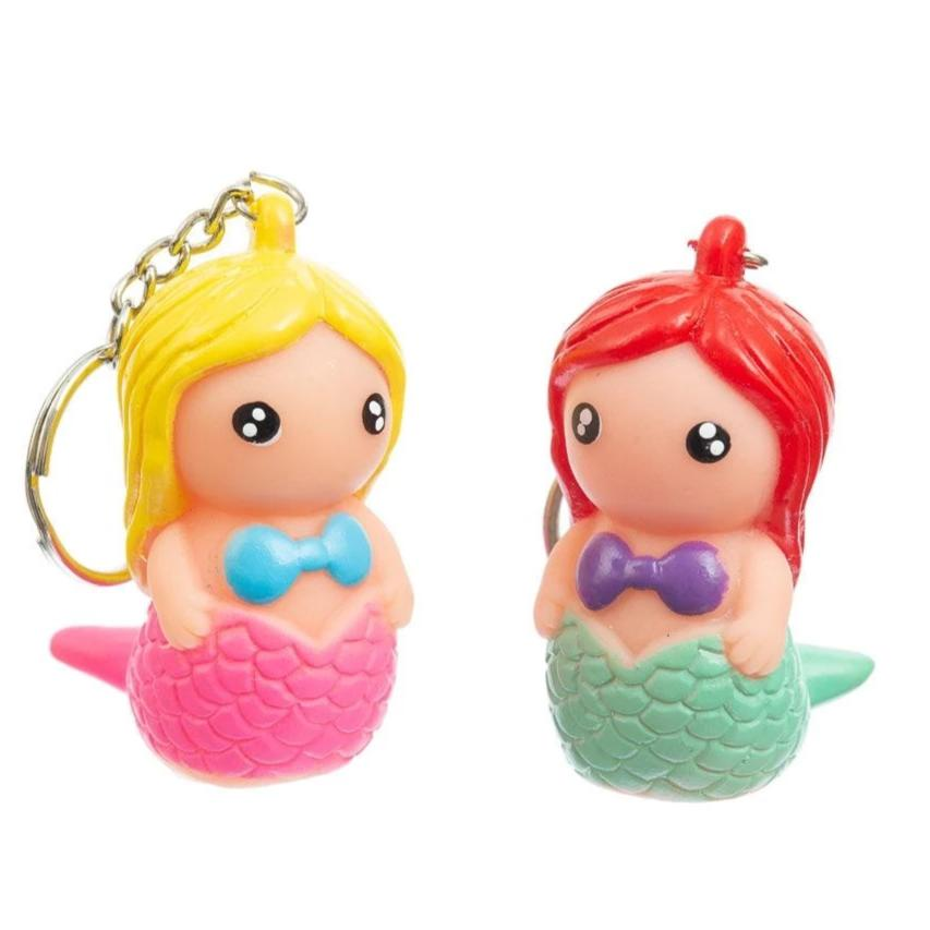 Poo Poo Mermaid Keyring