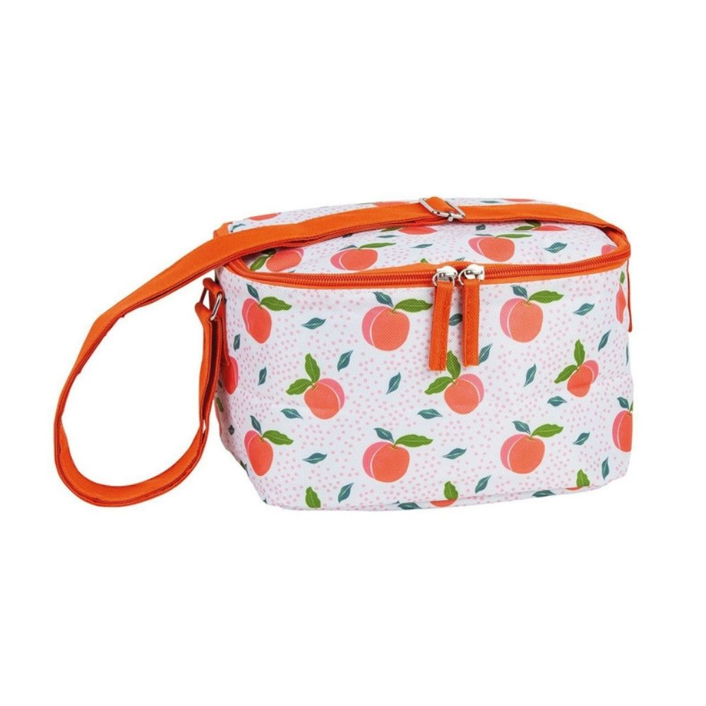 Summer Fun Peachy 4pc Lunch Set Cooler Bag from Funky Gifts NZ