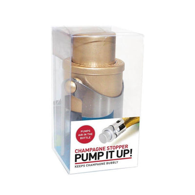 Pump It Up Champagne Stopper
