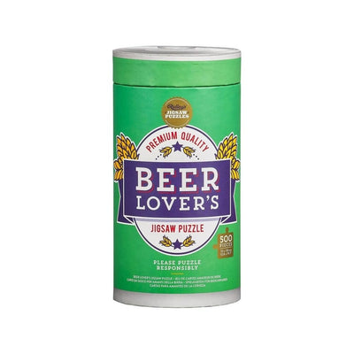 Ridley's Games Beer Lovers Jigsaw Puzzle from Funky Gifts NZ