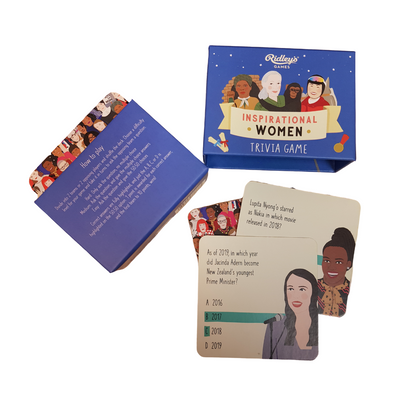 Inspirational Women Trivia Card Game from Funky Gifts NZ