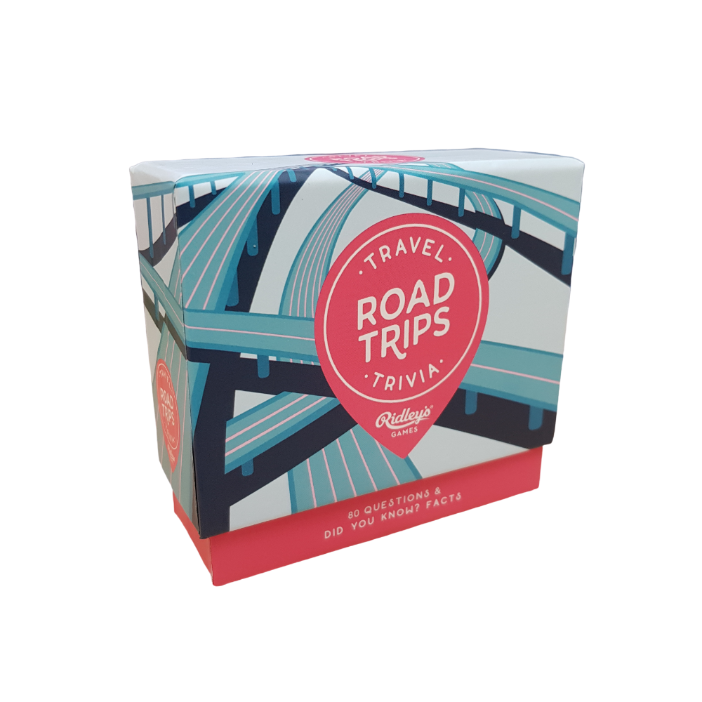 Ridley's Travel Quiz Road Trips Game from Funky Gifts NZ