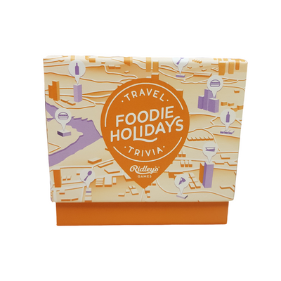 Ridley's Travel Quiz Game Foodie Holidays from funky gifts nz