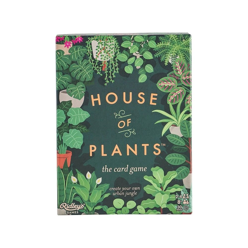 Ridley's house of plants card game from Funky Gifts NZ