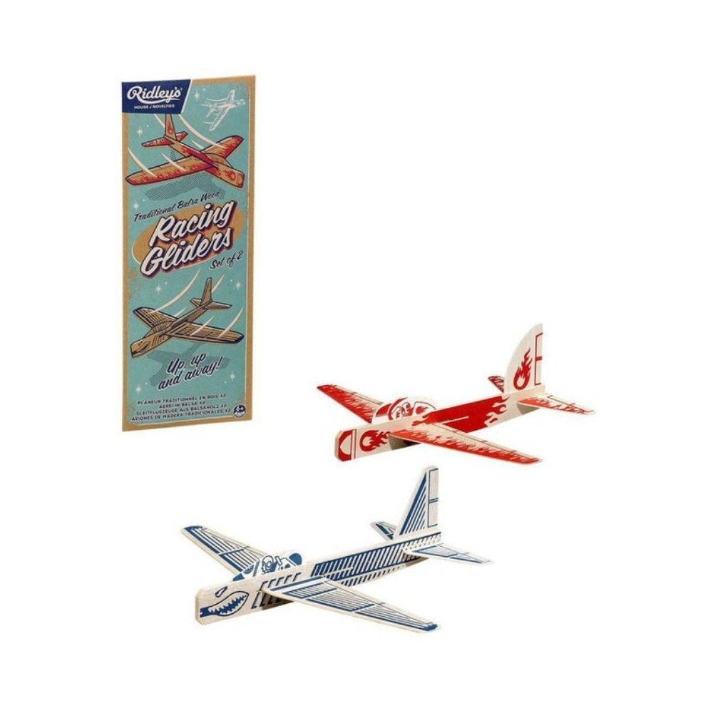 Ridleys Novelty Racing Gliders Set of 2 from Funky Gifts NZ