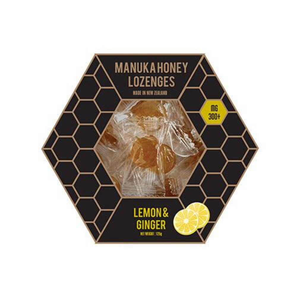 Manuka Honey Lozenges - Lemon & Ginger