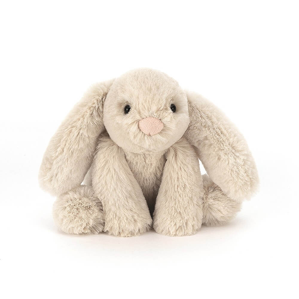Jellycat Smudge Beige Rabbit Tiny