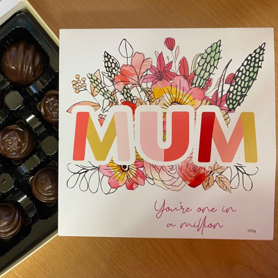 The Seriously Good Chocolate Company - Mum Floral Chocolate Box