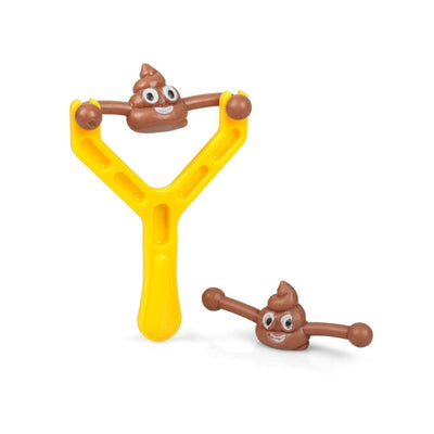 Smiley Poo Slingshot from Funky Gifts nZ