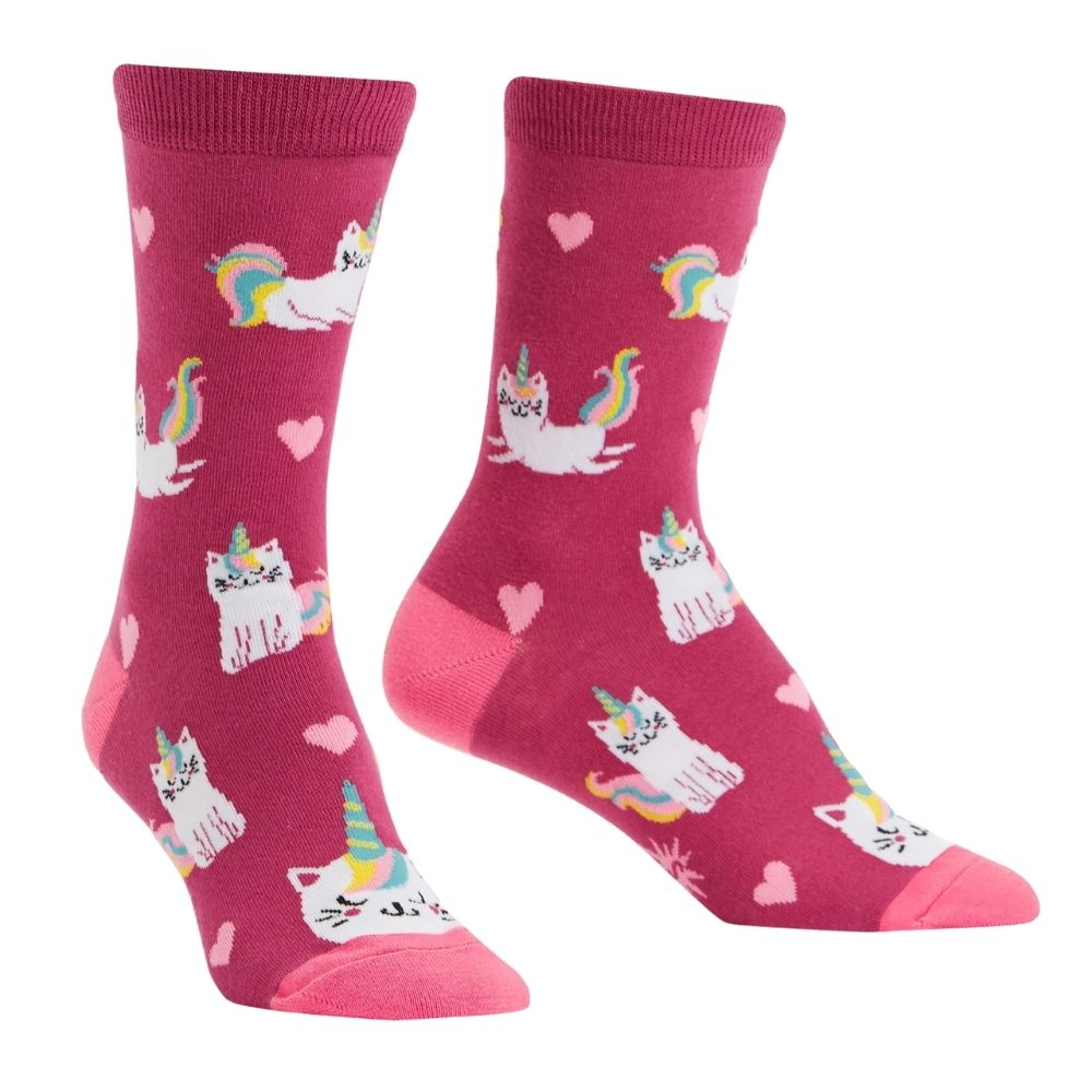 Look at me meow socks from Funky Gifts NZ