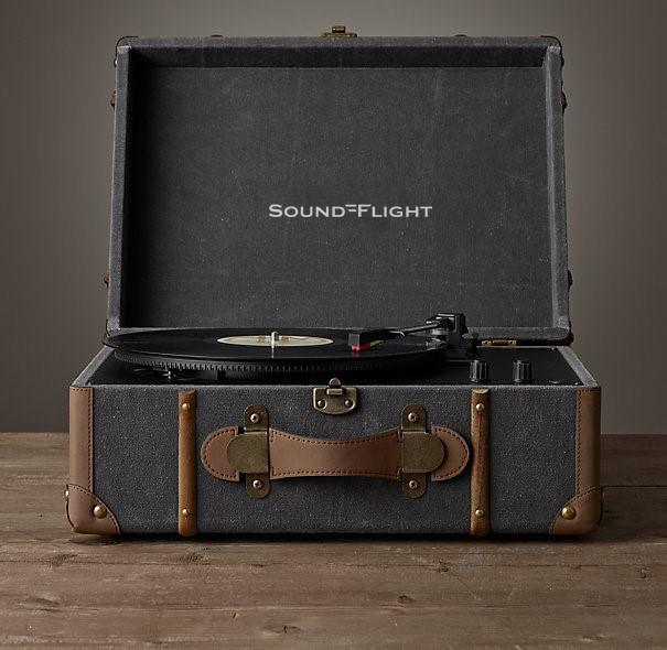 SoundFlight Trunk Encoding Retro Record Player