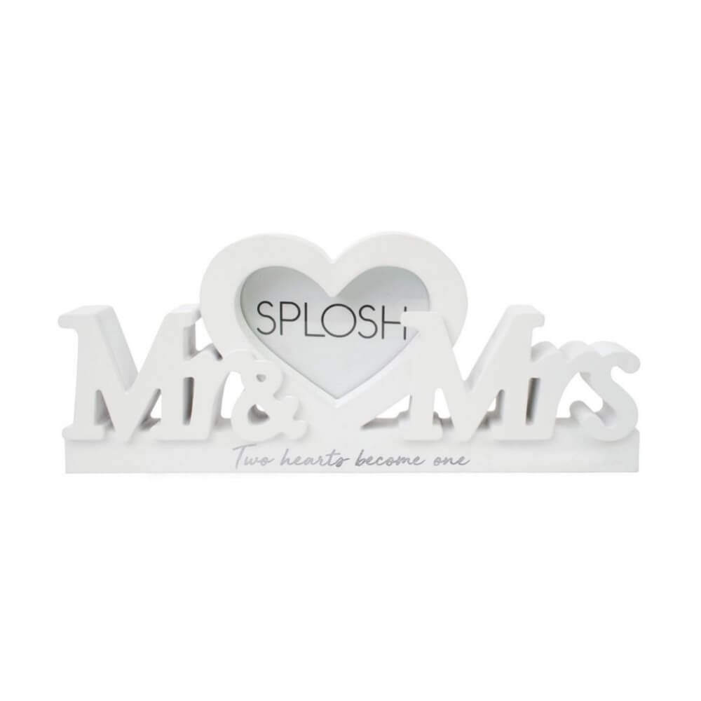 Splosh Mr & Mrs Frame White