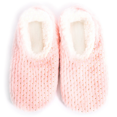 sploshie slipper metallic pink from funky gifts nz