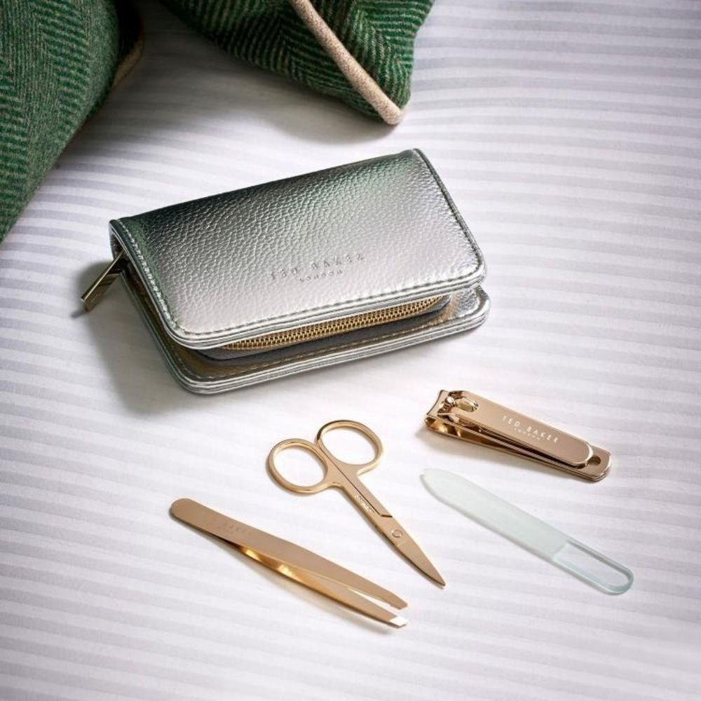 Ted Baker Manicure Kit - Silver