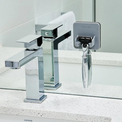 The Mason Shower Razor Holder - Grey