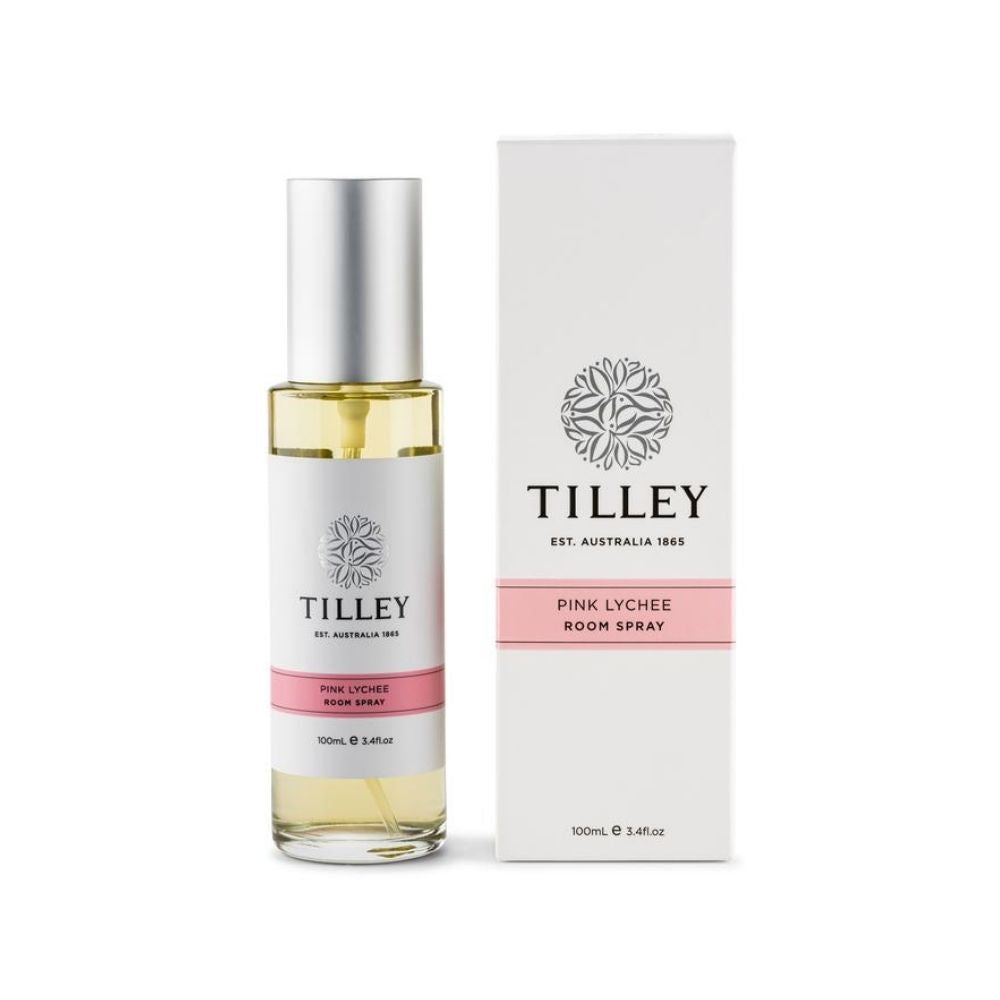Tilley Pink Lychee Room Spray from Funky Gifts NZ