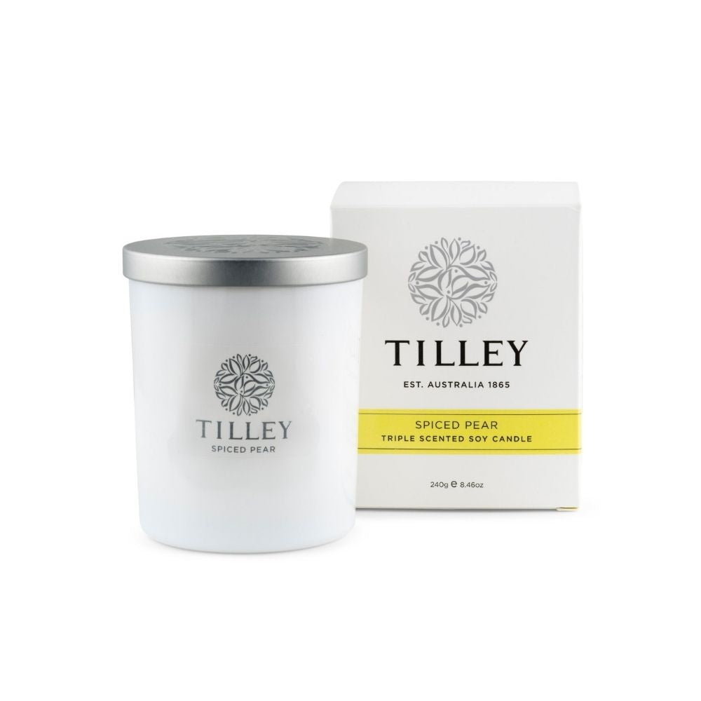 Tilley Soy Candle Spiced Pear