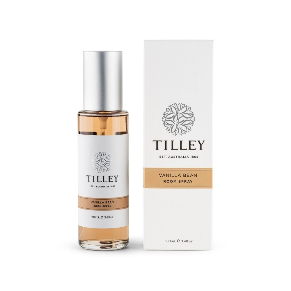 Tilley Vanilla Bean Room Spray from Funky Gifts NZ