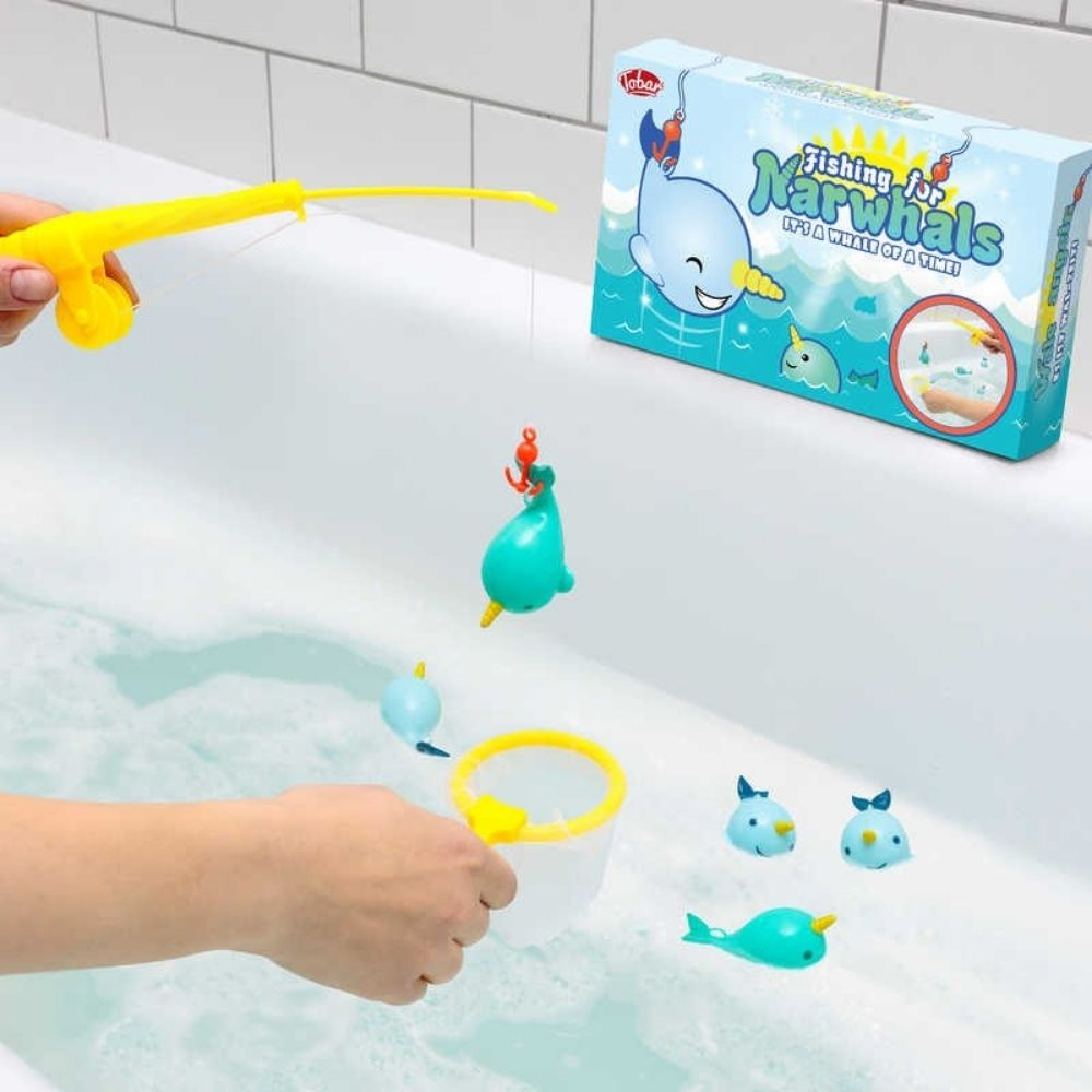Fishing for Narhwals Bath Game from Funky Gifts NZ
