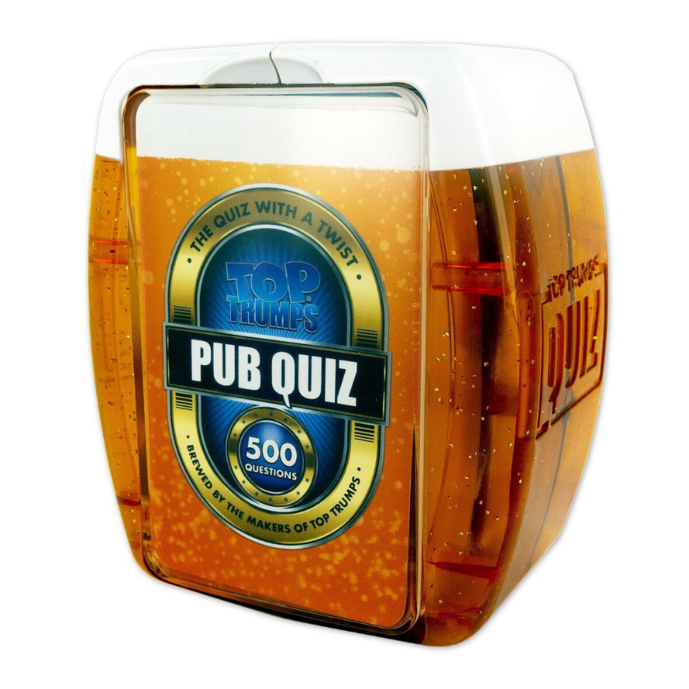 Top Trumps Pub Quiz With 500 questions from Funky Gifts NZ