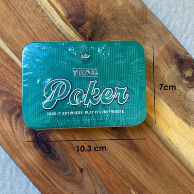 Travel Poker Tin from Funky Gifts NZ