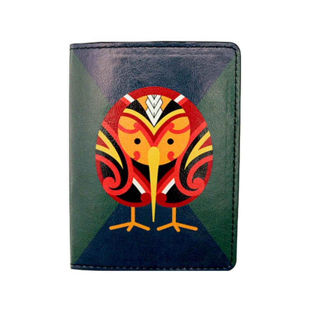Tribal Kiwi Passport Holder