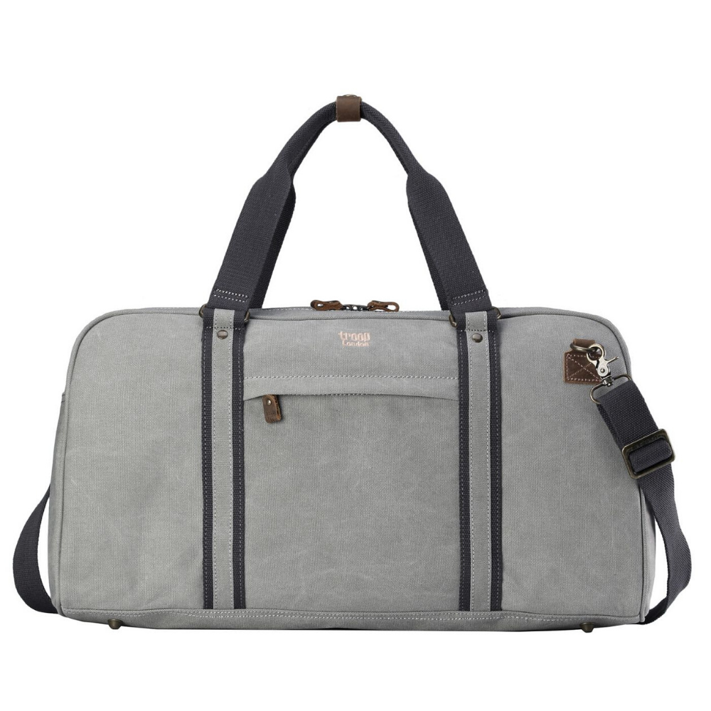 Troop Explorer Hold All Travel Duffel Bag - Ash Grey
