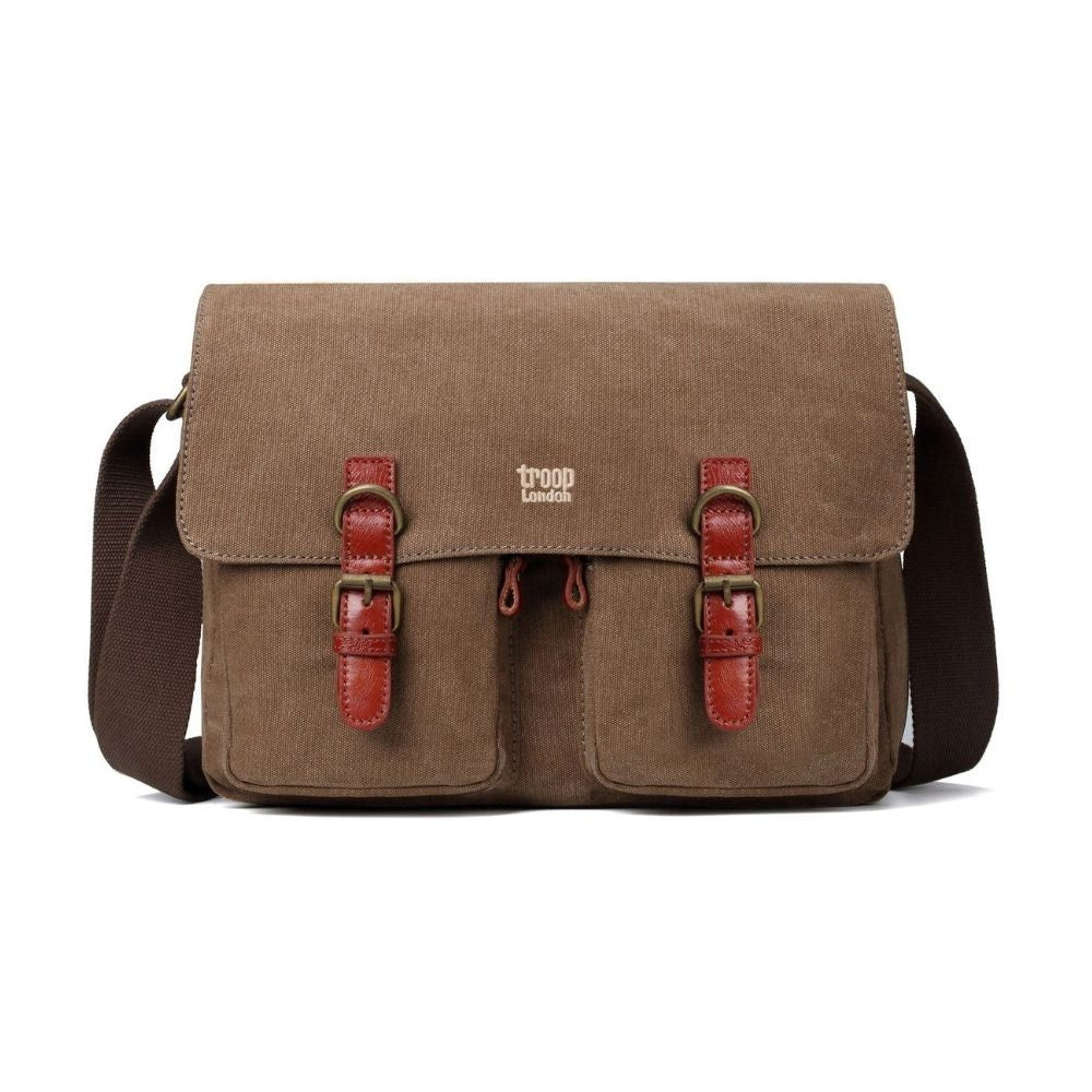 Troop Classic Messenger Bag - Brown