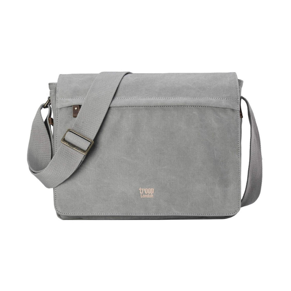 Troop Classic Messenger Bag - Ash Grey