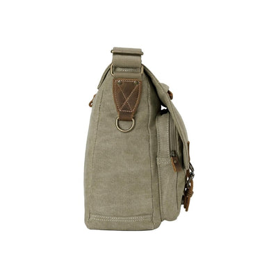 Troop London Classic Canvas Laptop Messenger Bag from Funky gifts nz