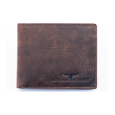 Urban Forest Logan Leather Wallet in Brown from Funky Gifts NZ