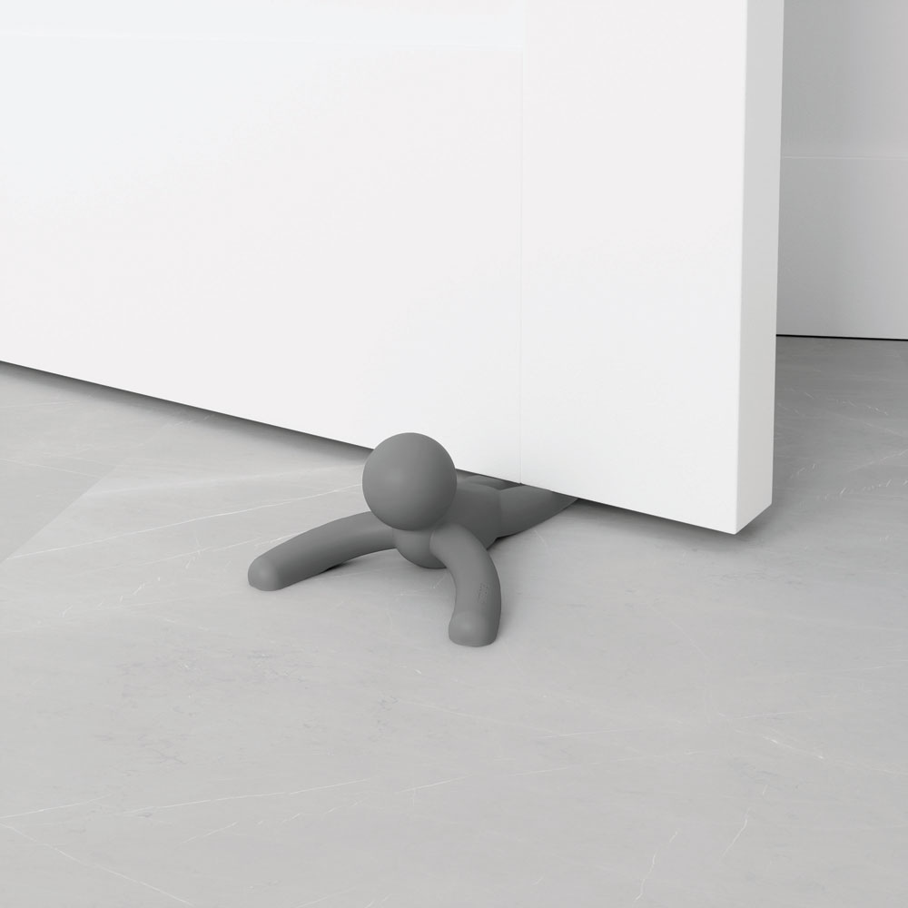 Umbra Door Stop Buddy Stopper Charcoal Homeware